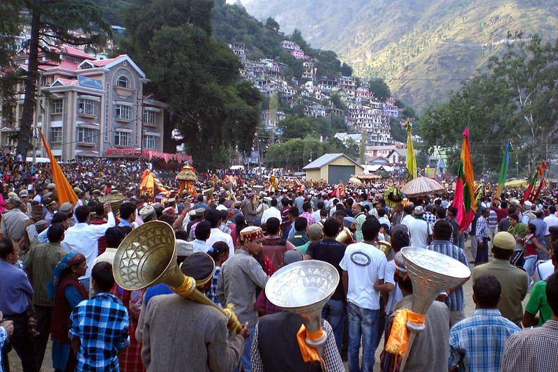 Kullu Dussehra of Himachal Pradesh, India