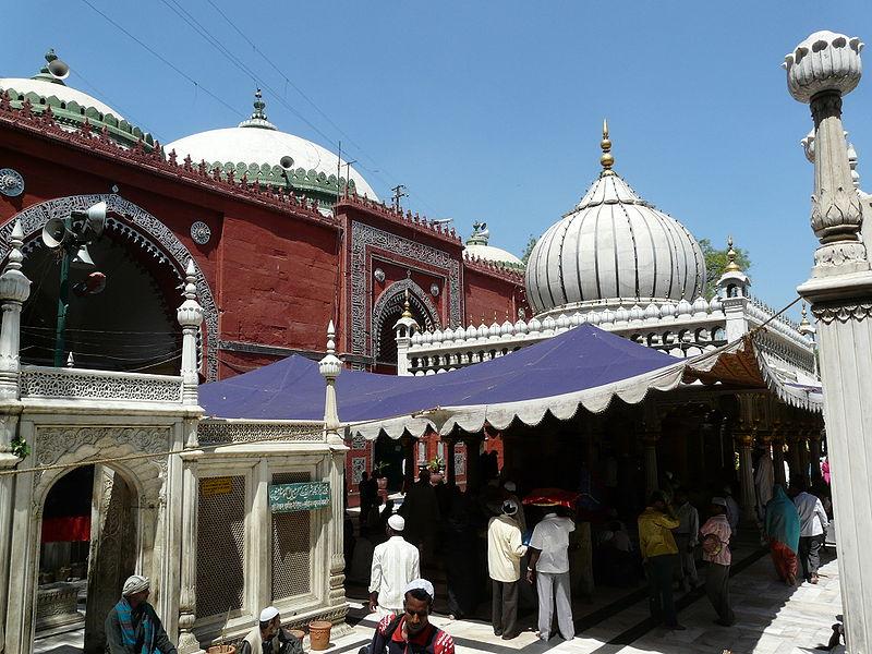 Nizamuddin Dargah complex, in Nizamuddin West, Delhi