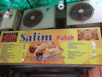 Salim's Kebabs in Khan Market